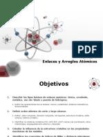 Unidad I. Enlaces y arreglos atómicos