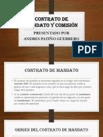 Contrato de mandato y comisión
