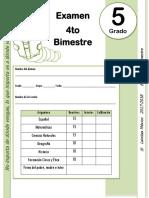 5to Grado - Examen Bloque 4 (2017-2018).docx