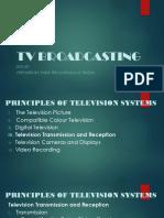 TV broadcasting (ECE 421)