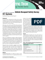 NHTSA 2016 Motor Vehicle Occupant Safety Survey