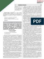 DS N° 004-2019-MTC- NUEVO PLAZO PAMA