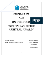 ADR Final draft Setting-Aside-Arbitral-Award-Contemporary-Scenario-in-India-Copy