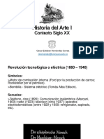 Presentación Contexto Histórico Económico y Político Arte S XX