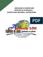 Manual amiscamp 2011VERSION ACTUAL