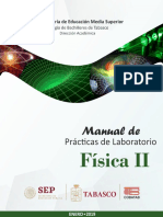 Manual de Laboratorio de Fisica II