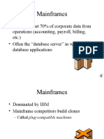 Mainframes Ppt