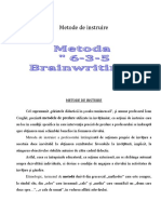 Metoda 6-3-5 tema
