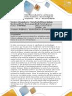 Formato respuesta - Fase 1 - Reconocimiento unad 1