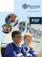 Roysia Middle School Prospectus & Info Pack