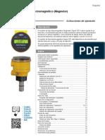 3-2551.090-1 Rev 15 Spanish Display Magmeter manual
