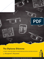 The Diploma Dilemma