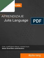 Julia Language Es