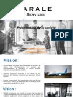 IARALE Services - Présentation des activités Consulting et Training