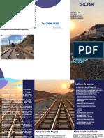 Purple Blue Indigo Public Library Pamphlet Trifold Brochure (1)