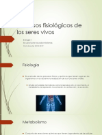 Biología. Clase 2 Procesos fisiológicos y fotoperiodos