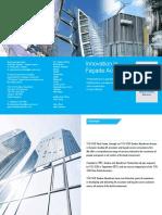 TÜV SÜD Dunbar Boardman Facade Access Flyer