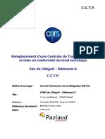 CCTP Remplacement CTA Bat G CNRS VILLEJUIF