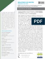 Relatório Mensal de Gestao - LVBI11 - Dezembro 2019 Vf
