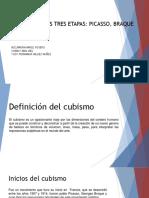 Presentación Cubismo