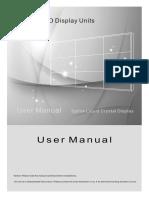 2000 series LCD video wall manual