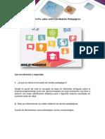 Anexo 2 Cuestionario de Pre saberes - Modelos Pedagogicos