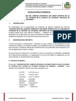 ESTUDIO DE IMPACTO AMBIENTAL DE COTARUSE