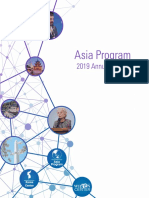 Asia Program 2019 Annual Report