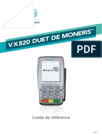 Moneris VX 820 Reference Guide