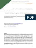 [Artigo] BRAGA, P. S. C.; COSTA, L. S. A Implantação de um Núcleo de Inovação Tecnológica a Experiência da Fiocruz.pdf