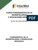 FUNDAMENTOS GEOMETALURGIA CAPITULO II