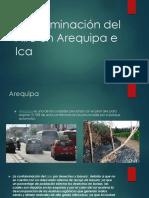 Contaminación del Aire en Arequipa e Ica
