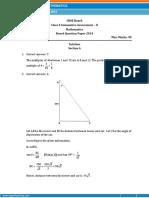 CBSE Class X Maths Solution 2014.pdf