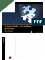 Volatility Reflexivity & Mean Reversion by Mark Whistler
