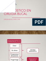 Diagnostico en Cirugia Bucal 2018