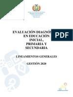 Evaluacion Diagnostica Lineamientos Generales 2020.pdf