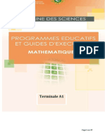 Programme Eductif maths TA1 CND 20-2