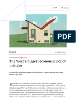 The horrible housing blunder - The West's biggest economic policy mistake _ Leaders _ The Economist