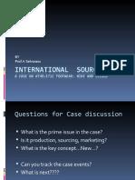 International Sourcing