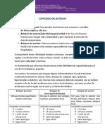 CONTENIDO DEL BOTIQUIN CNADR ASMAC. SCOUTS
