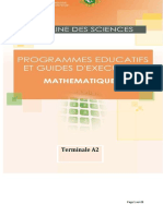 Programme Eductif maths TA2 CND 20-2