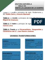 Tema 1 literatura EBAU CyL-Rubén Darío y Antonio Machado