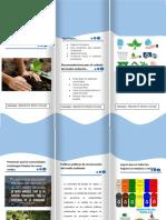 folleto ambiental