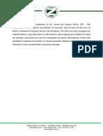 Relatório Final Mapeamento de Processos