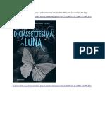 Scarica La diciassettesima luna (La sedicesima luna Vol. 2) Libro PDF Kami Garcia Scarica e leggi online