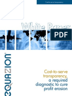 White Paper Cost to Serve