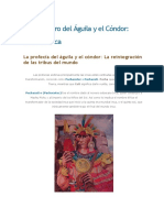 Profecía Inka El Encuentro del Águila y el Cóndor. Extracto