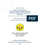 Cover Laporan Riset Diagnosis Audit HUMAS