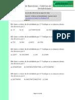 Lista de Exercícios Critérios de Divisibilidade - PDF Free Download