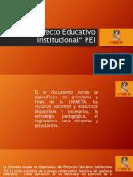 Proyecto Educativo Institucional PRESENTACION